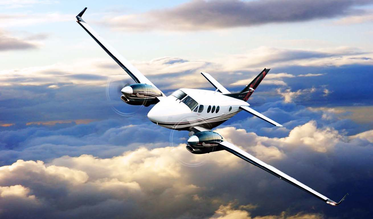 Beechcraft King Air C90GTx exterior.jpg